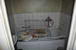 Ett av badrummen som försvann